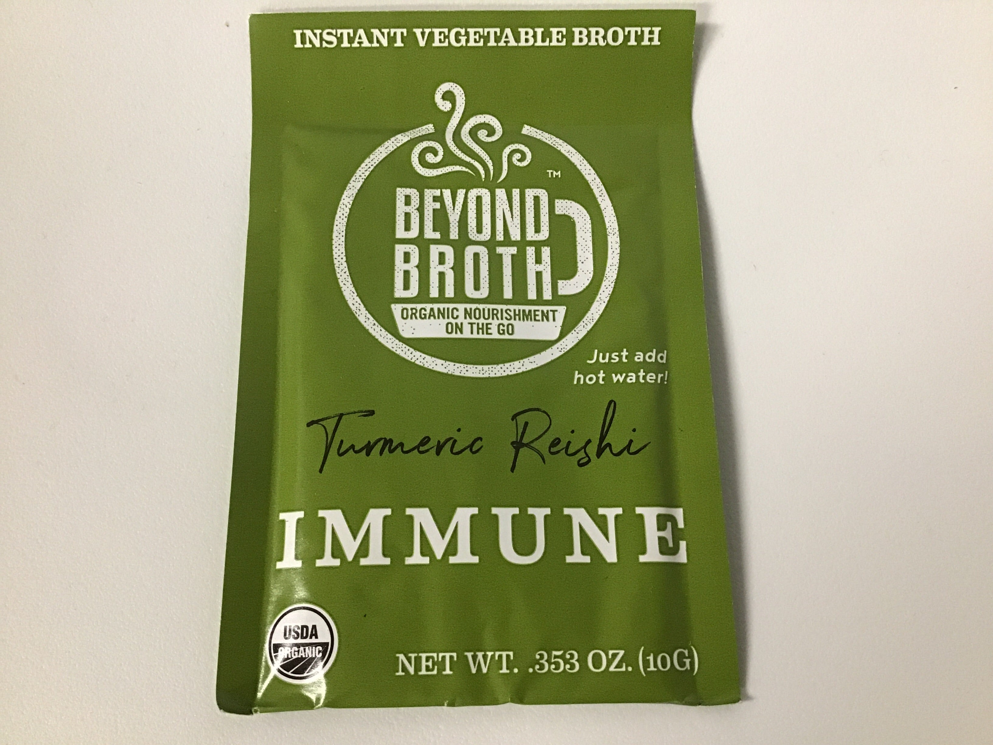 Beyond Broth - IMMUNE (Turmeric Reishi) Vegan Instant Broth