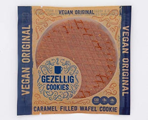 Gezellig Cookies- Caramel Filled Wafel Cookies
