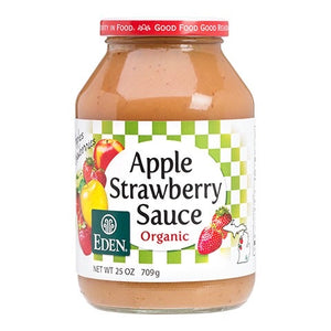 Eden Foods - Strawberry Apple Sauce