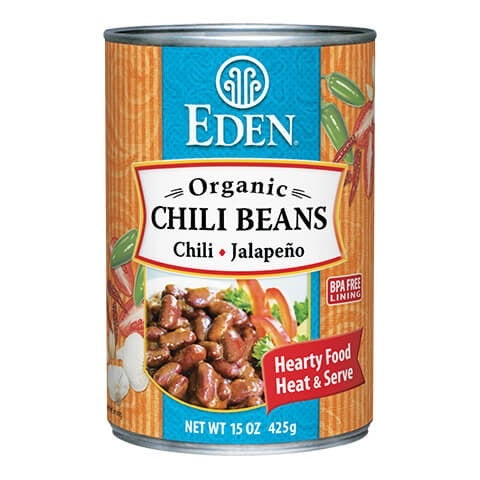 Eden Foods - Chili Beans (Chili+Jalapeno)