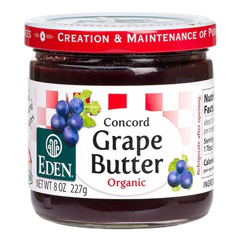 Eden Foods - Concord Grape Butter
