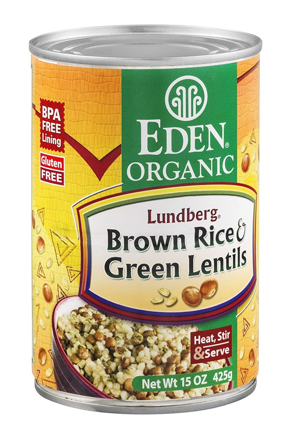 Eden Foods - Brown Rice Green Lentils