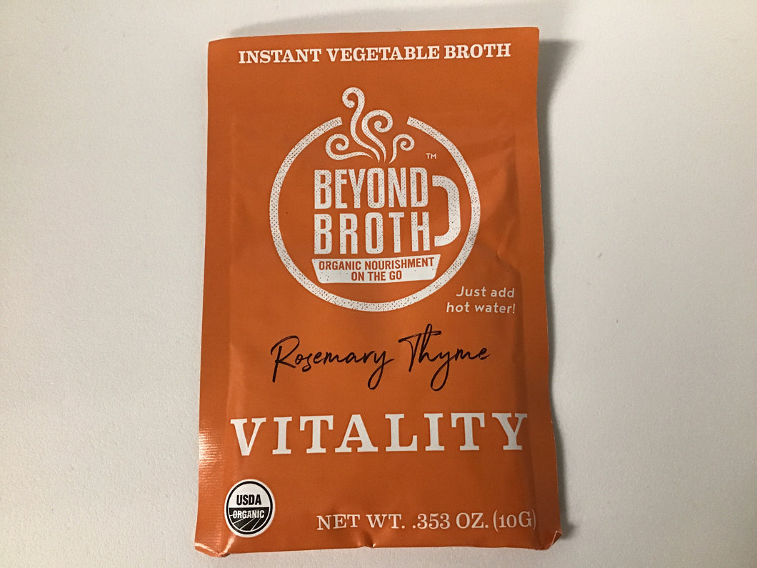 Beyond Broth - VITALITY (Rosemary Thyme) Vegan Instant Broth