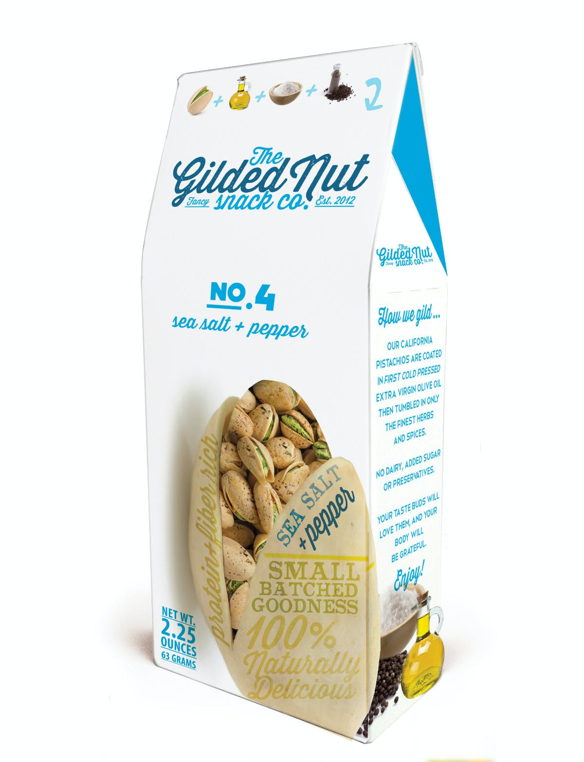 The Gilded Nut Snack Co. - Pistachios