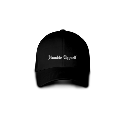 Black Humble Thyself Dad Hat