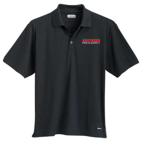 Men's Moreno Short Sleeve Polo - Black