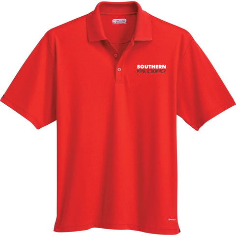 Men's Moreno Short Sleeve Polo - Red