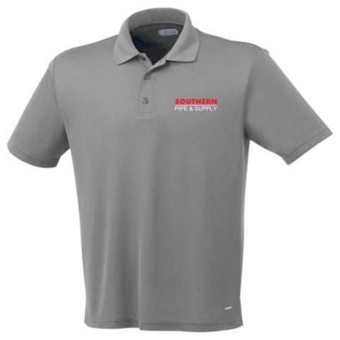 Men's Moreno Short Sleeve Polo - Steel Grey