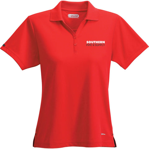 Women's Moreno Short Sleeve Polo - Red