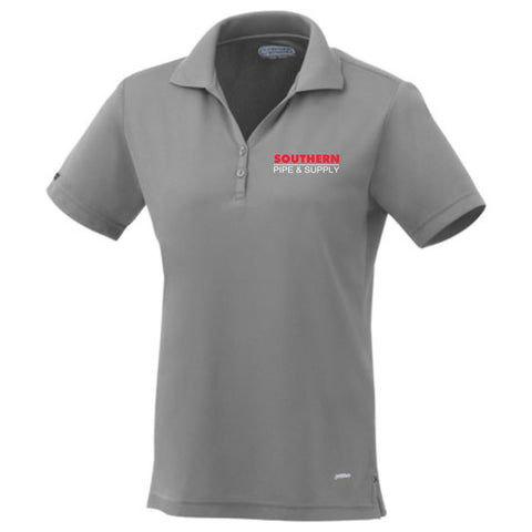 Women's Moreno Short Sleeve Polo - Steel Grey