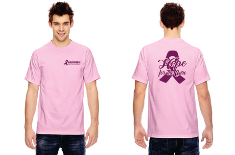 """Hope for the Cure"" Breast Cancer Awareness Tee"