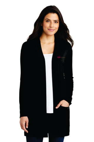 Southern Bath & Kitchen Ladies Long Pocket Cardigan