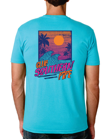Club Southern Pipe Short Sleeve T-Shirt
