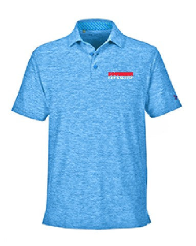Under Armour Men's Playoff Polo - Blue Marker