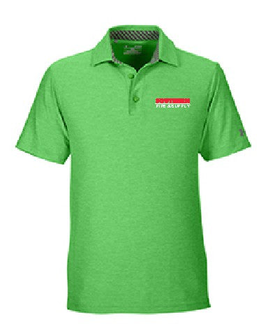 Under Armour Men's Playoff Polo - Green Energy