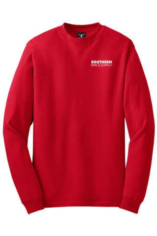 Southern Pipe Long Sleeve Cotton T-Shirt