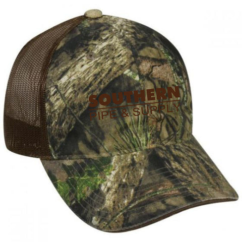Southern Pipe Mossy Oak® Break-Up Country® Camo Cap