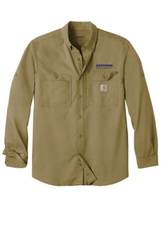 Carhartt Force® Ridgefield Solid Long Sleeve Shirt
