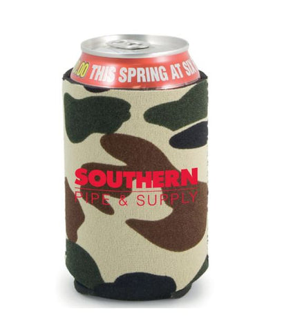 Camouflage Neoprene Can Cooler
