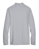 Men's CrownLux Performance Clubhouse Micro-Stripe Quarter-Zip