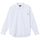 Pinstripe Stitched LS Shirt - White