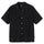 Floral Pattern Lace Shirt - Black