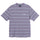 Heather Stripe S/SL Crew T-Shirt - Lavender