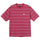 Heather Stripe S/SL Crew T-Shirt - Red