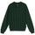 S Chain Ls Knit Polo - Forest