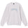 Stüssy Smooth Stock Embroidered Crew - Ash Heather