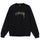 Stüssy Smooth Stock Embroidered Crew - Black