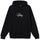 Copyright Stock Embroidered Hoodie - Black