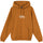 Copyright Stock Embroidered Hoodie - Caramel