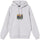 Stüssy Irises Embroidered Hoodie - Ash Heather