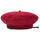Nylon Logo Beret - Red