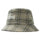 Big Logo Plaid Bucket Hat - Off White