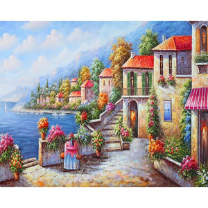 Beautiful City - DIY Painting By Numbers Kits