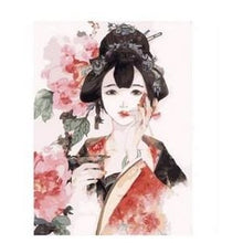 Chinese Girl - DIY Painting By Numbers Kits