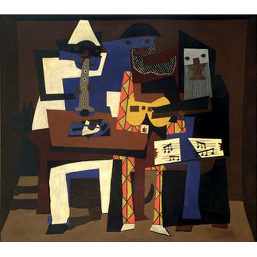THREE MUSICIANS - Pablo Picasso 5D DIY Paint By Number Kit