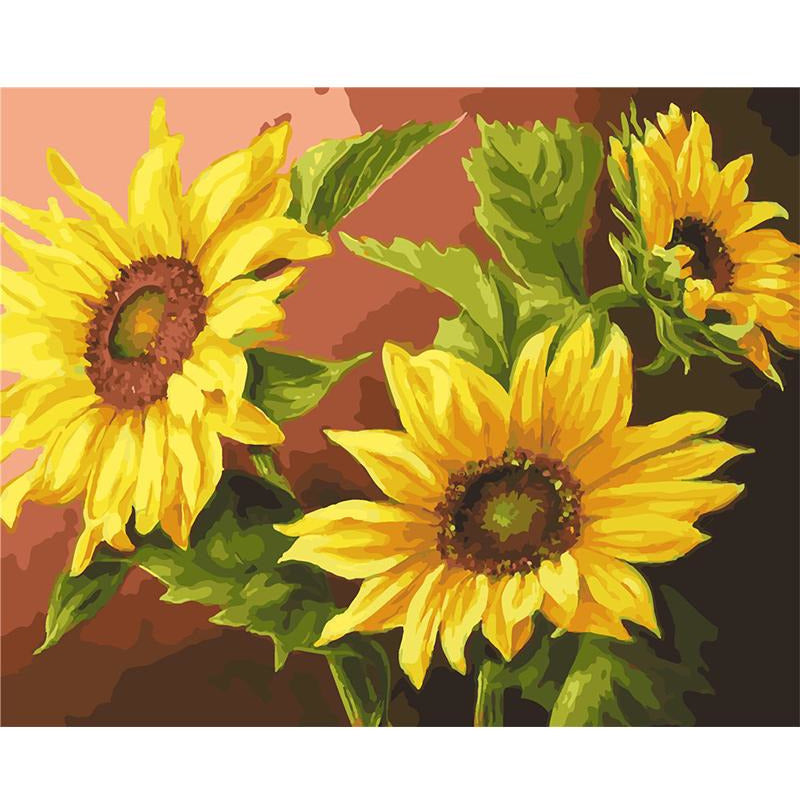 Sunflower Morning - DIY Painting By Numbers Kits