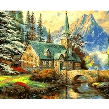 A Castle House - DIY Painting By Numbers Kit