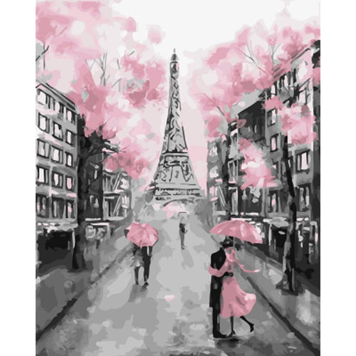 Lovely Paris - DIY Painting By Numbers Kit