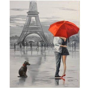 Paris Amour - DIY Painting By Numbers Kit