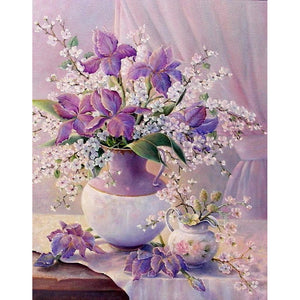Exquisite Flora - DIY Painting By Numbers Kit