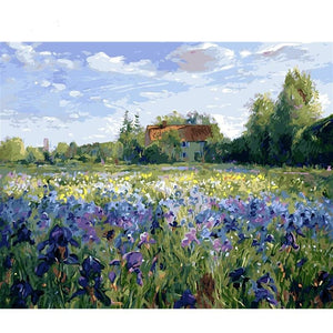 Lavender Lawn - DIY Painting By Numbers Kits