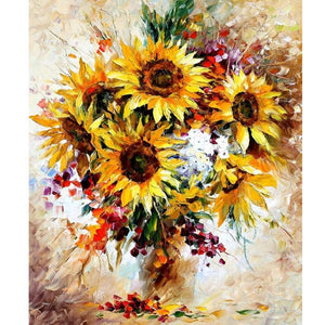 Sunflower Vase - DIY Painting By Numbers Kits