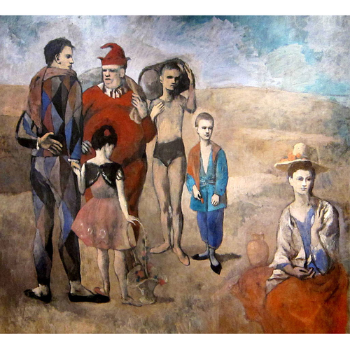 FAMILY OF SALTIMBANQUES - Pablo Picasso 5D DIY Paint By Number Kit