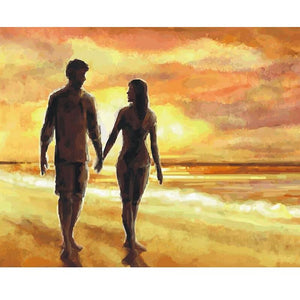 Couple by the Sea - DIY Painting By Numbers Kits