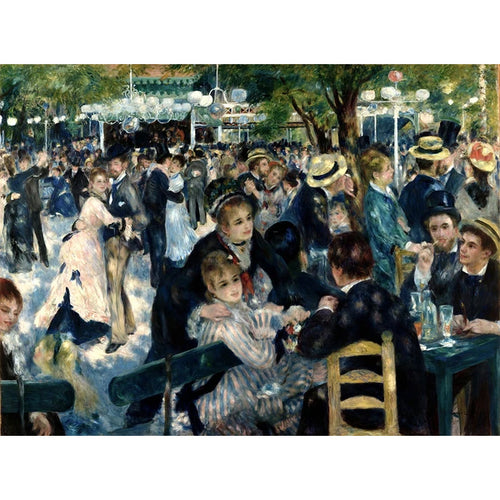 Dance At Le Moulin De La Galette - August Renoir DIY Painting By Numbers Kit