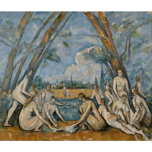 The Bathers - Paul Cezanne DIY Painting By Numbers Kit